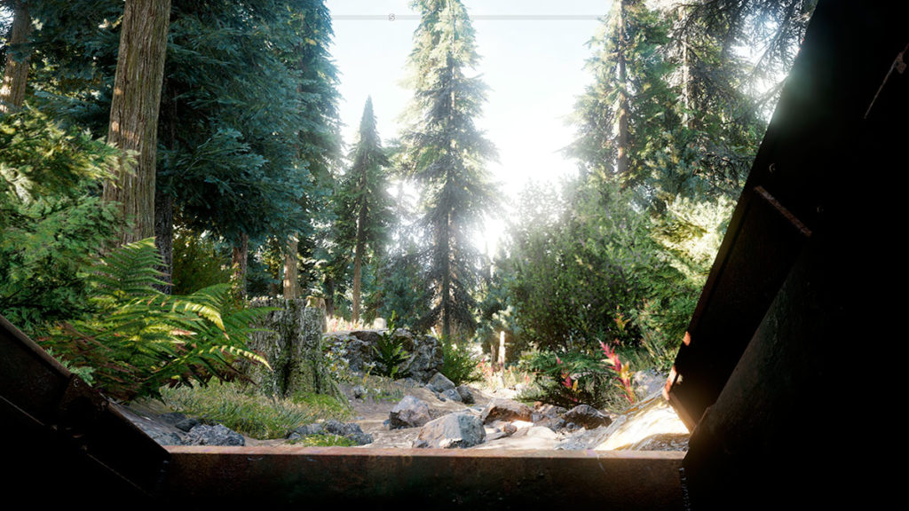 ambiente floresta far cry 5