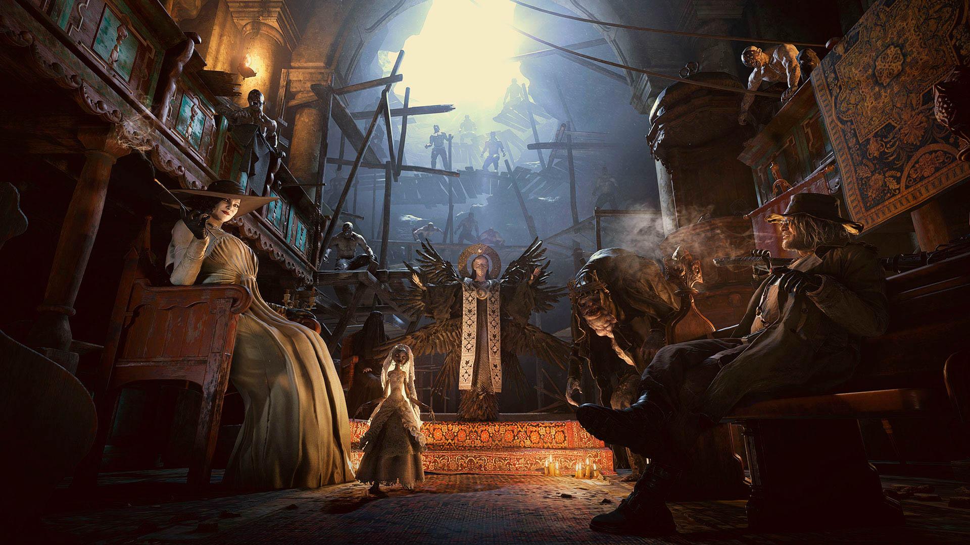 Imagens para a análise Resident Evil Village para Xbox